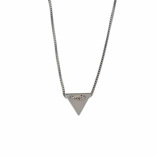 colgante veneciano triangulo