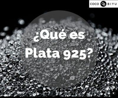 ¿Qué es la plata 925?