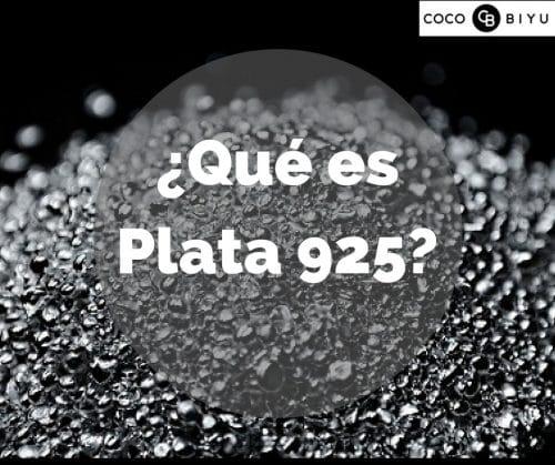¿Qué es plata 925?