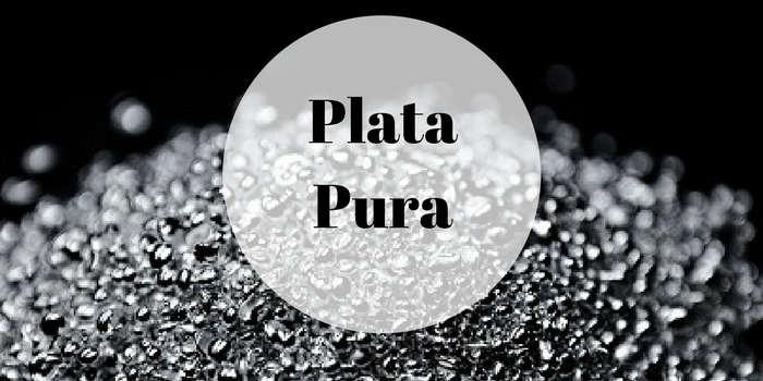 ¿Qué es la plata pura o plata 999?
