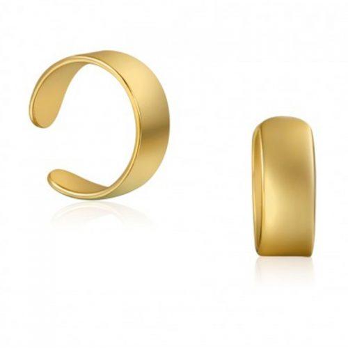 pendientes ear cuff oro