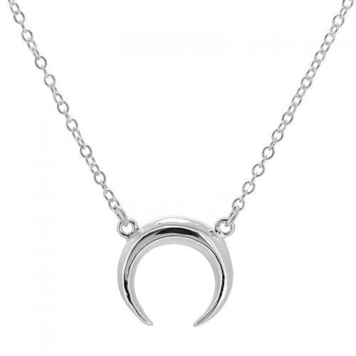 collar cuerno en plata cocobiyu