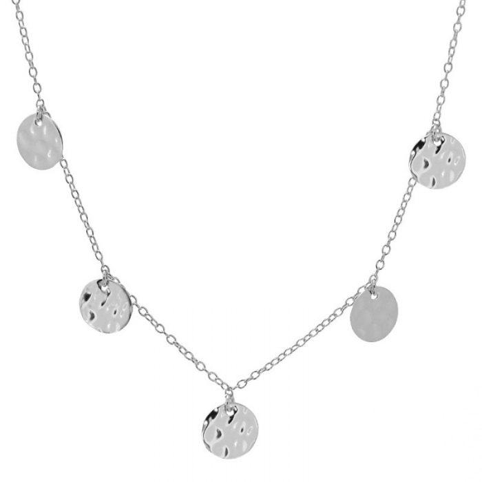collar moneditas plata cocobiyu