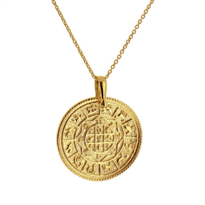 Gargantilla zodiaco oro