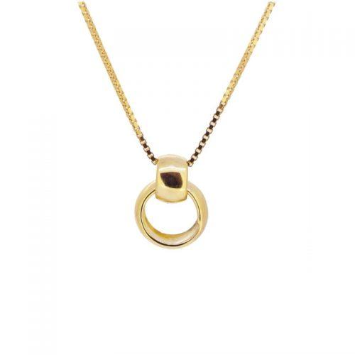 collar aritos oro
