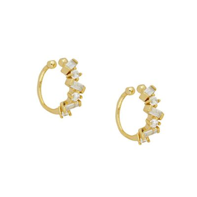 Ear cuff circonitas oro